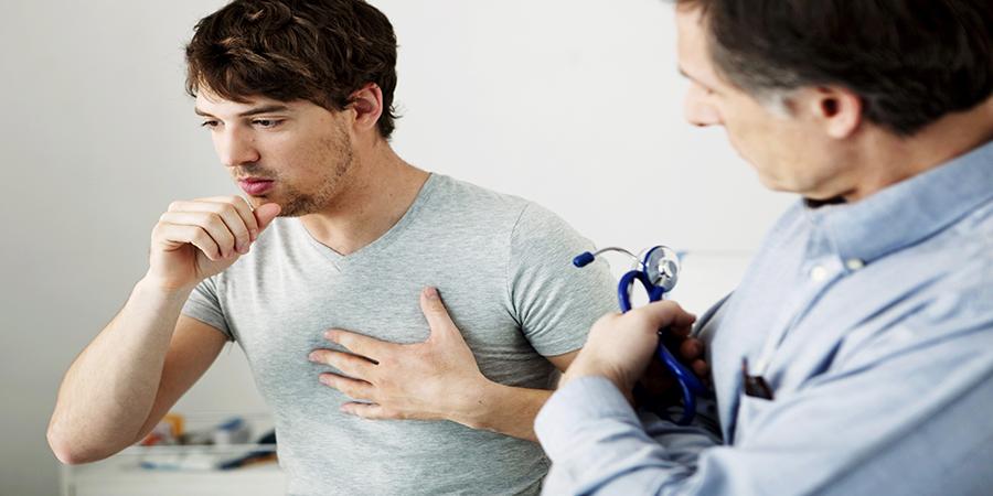 tüdőbetegség jelei