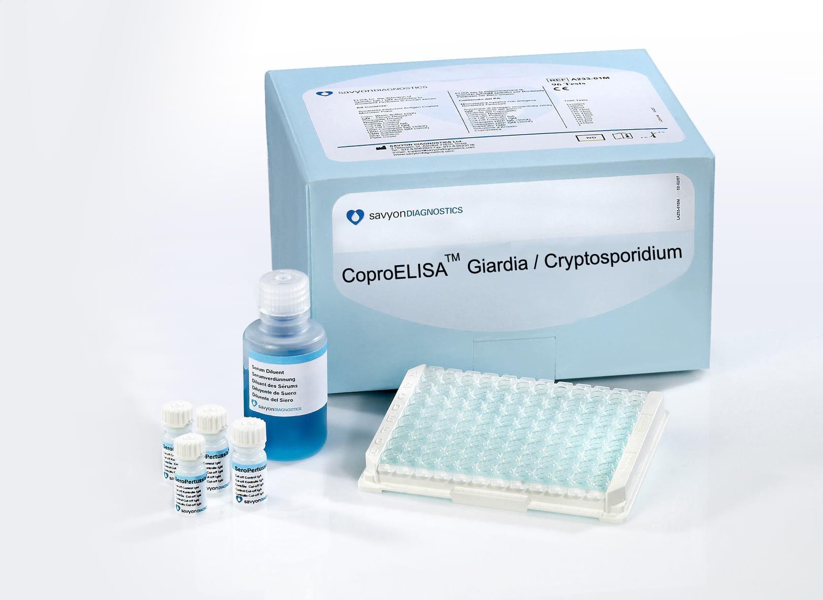Giardia water test kit, Galandféreg kezelese