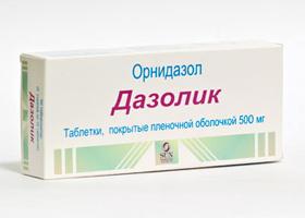dazolikus giardiasis
