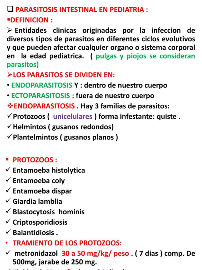 metronidazol giardia pediatria