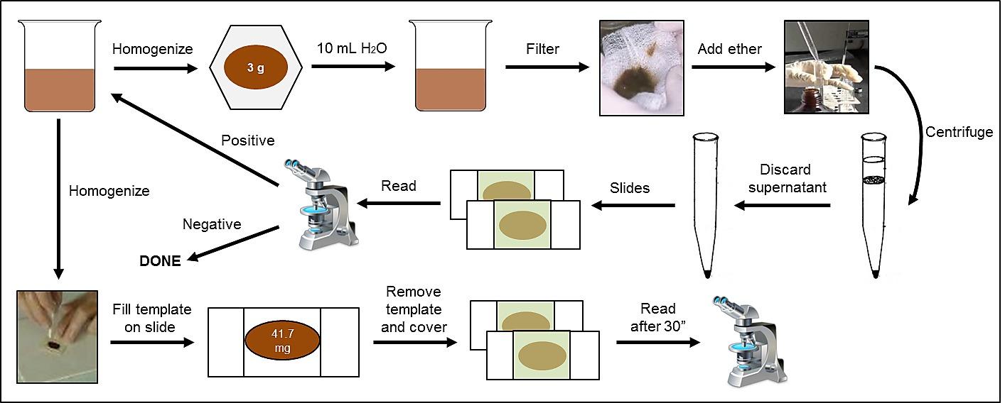 laboratóriumi vizsgálatok helminthiasisra