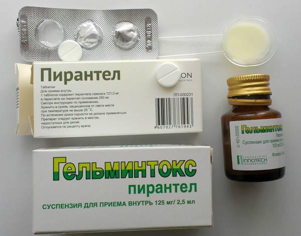 férgekből származó tabletták egyszer használatos személyek számára