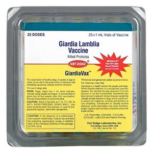 giardiavax quantas doses