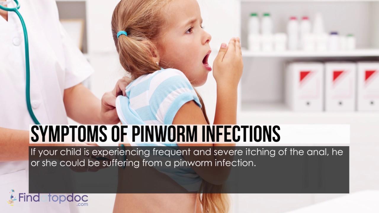 ha pinworms jön ki